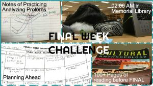 Collage-Final Week Challenge